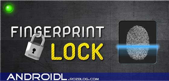 شناسای با اثر انگشت توسط Fingerprint Lock v1.9